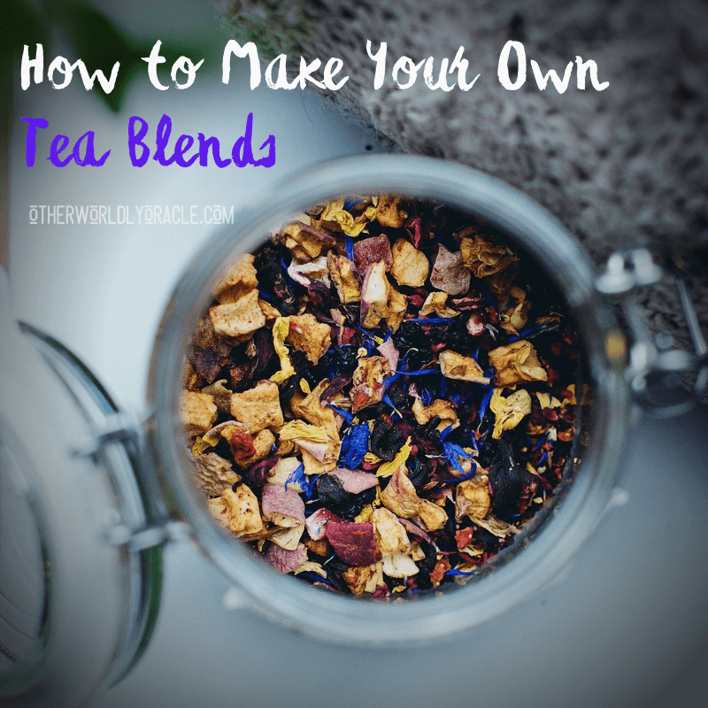 How to Make Your Own Tea Blends in 4 Easy Steps