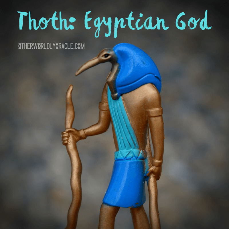 Thoth Egyptian God of Wisdom and Writing