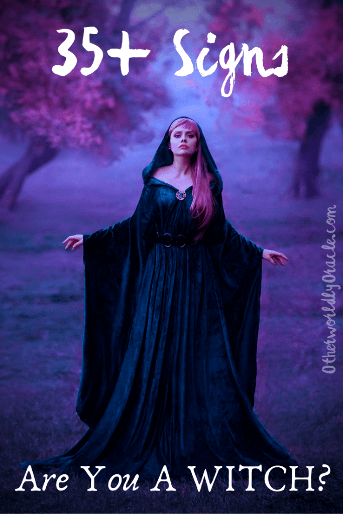 Are you a witch/ 35+ signs you're a wise woman or man.