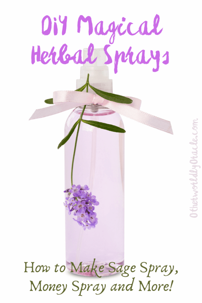 DIY Magical Herbal Sprays for Cleansing, Money and Peace
