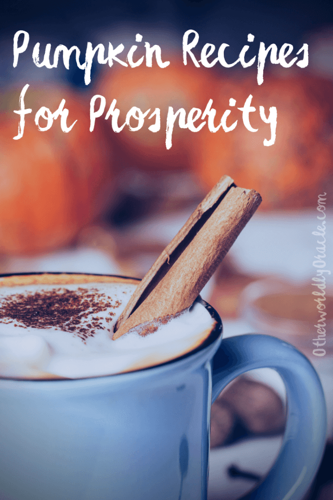 Pumpkin spice coffee and pumpkin soup witchy recipes for prosperity