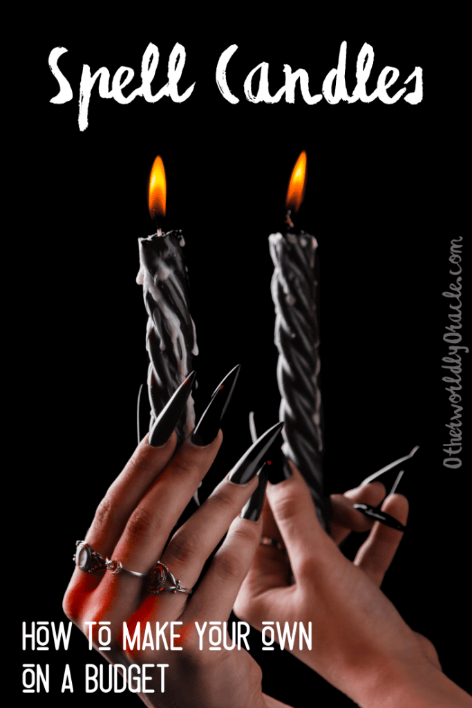 Spell Candles: How to Make Your Own Magickal Candles on a Budget