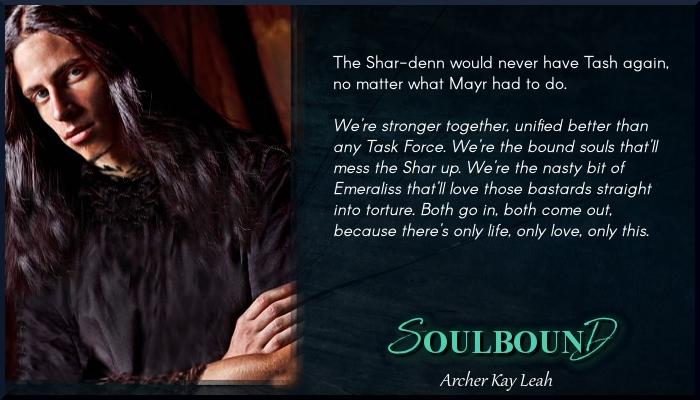 soulboundarcher kay leah book spotlight  mmmmf