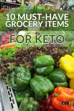 If you have followed our blog or social media for a bit, you'll know that both Bill and I are following a ketogenic diet. I have been doing keto since March 17, 2018, and Bill has recently started. I wanted to give you a peek into what this looks like with our 10 must-have grocery items for keto.