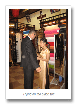 The Hoi An tailors (2/6)