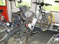 Herrmann im Zug nach Wien