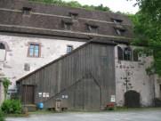 ...und ein Teil eines alten Klosters in der Nähe.