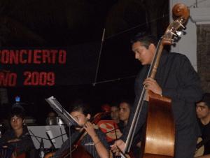 Primer concierto de la OTILCA
