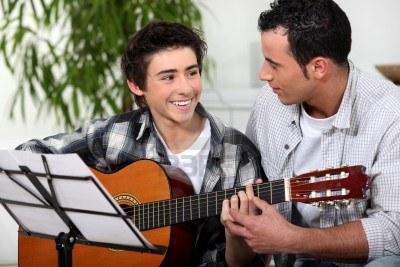 padre e hijo musicos