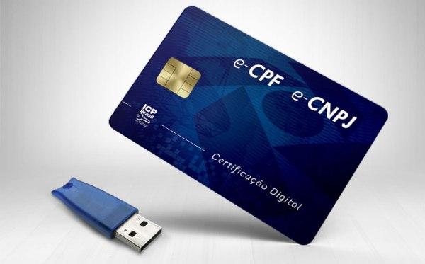 Certificado digital A3: cartão e token