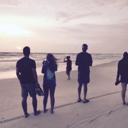Fam at beach 2015