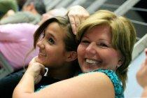 Megan and Joan at Deni graduation from unf