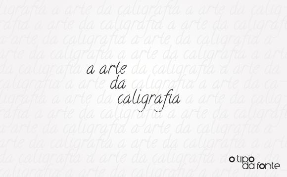 Banner do Post sobre Caligrafia