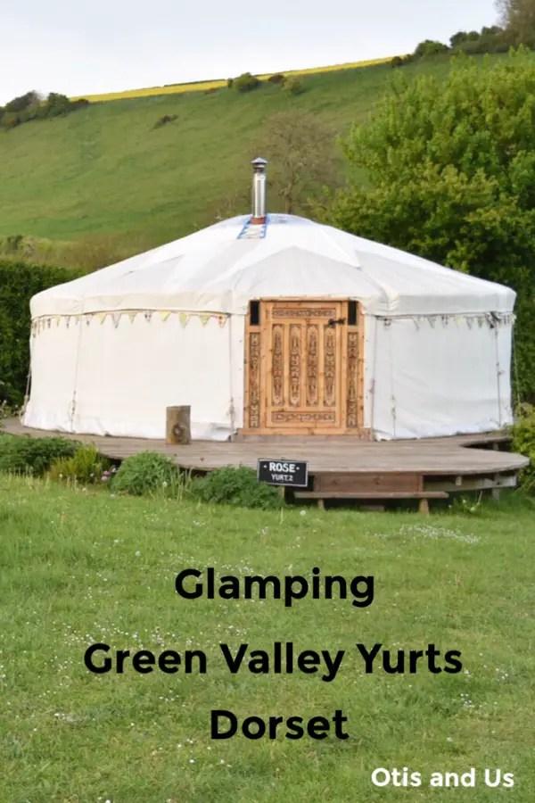 Glamping at Green Valley Yurts Dorset