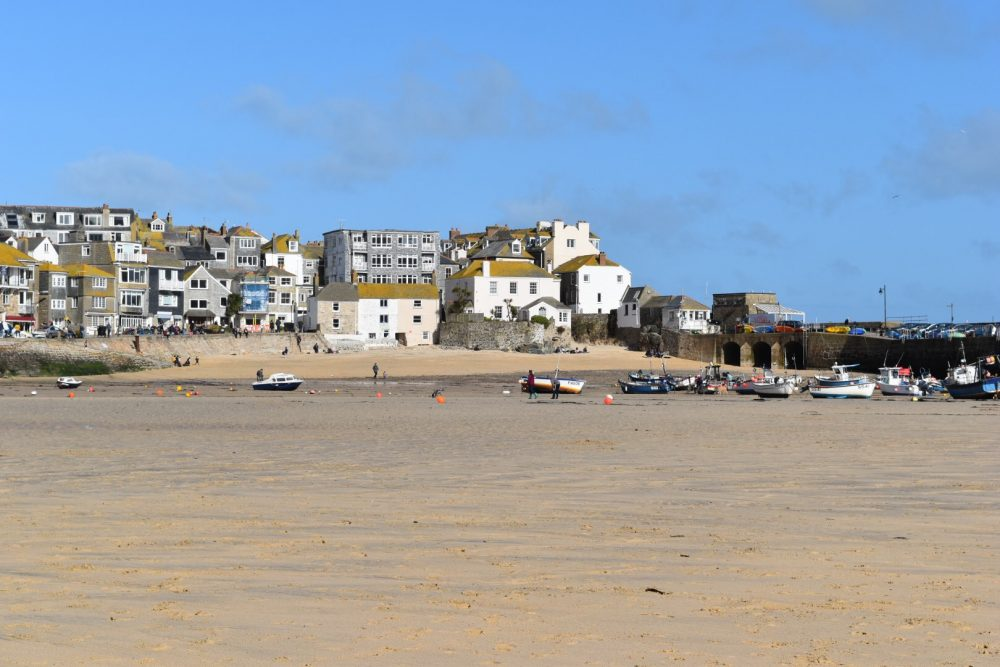 6 Hotels with a sea view in St Ives Cornwall