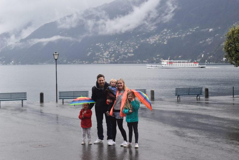 Lake Maggiore with kids
