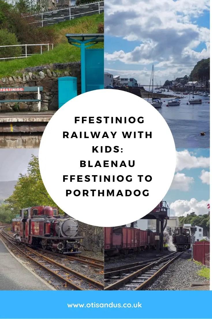 Ffestiniog Railway with kids: Blaenau Ffestiniog to Porthmadog