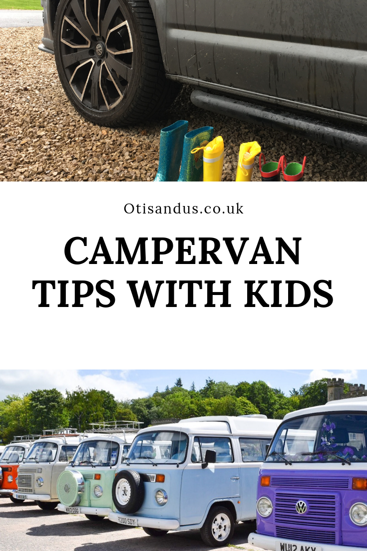 Campervan with kids – Our top tips for surviving a campervan holiday #Campervantips #campervanhacks #travelwithkids