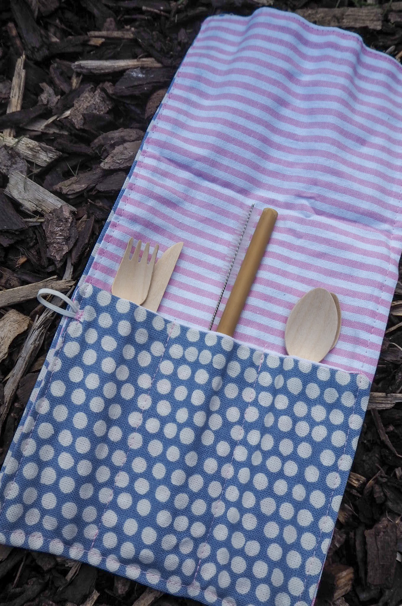 Cutlery Wrap Bamboo cutlery