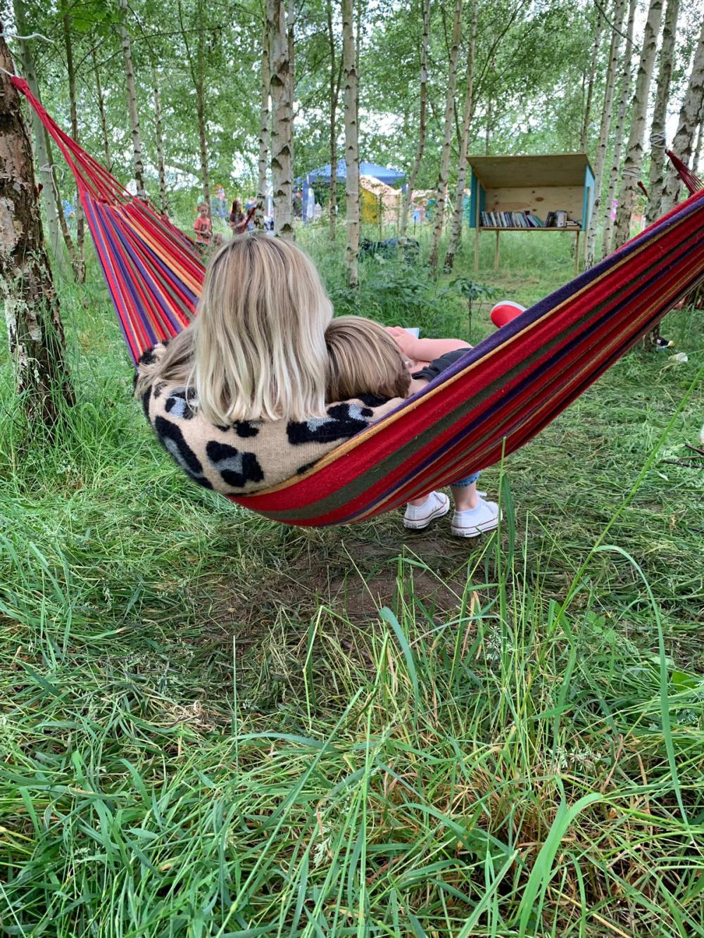 Woodland library at timber festival review