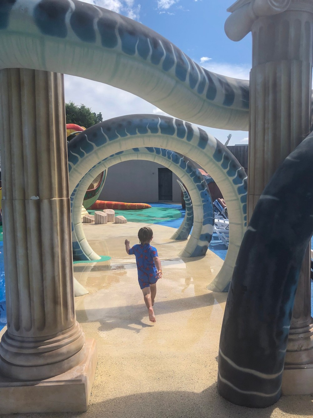 Waterpark at Clarys Plage