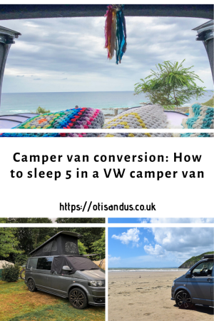 Camper van conversion: How to sleep 5 in a VW camper van