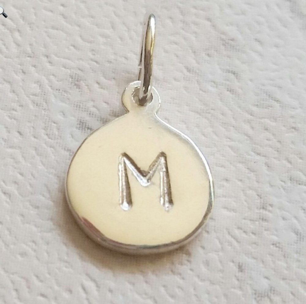 sea themed jewellery personalised tag
