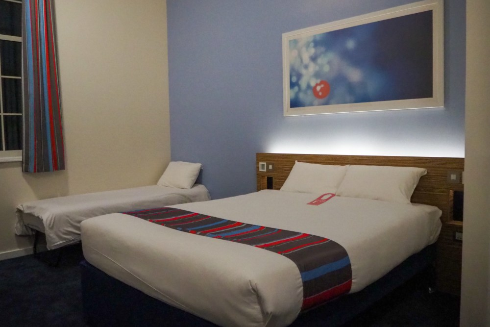 review of family room at Travelodge Chester Central