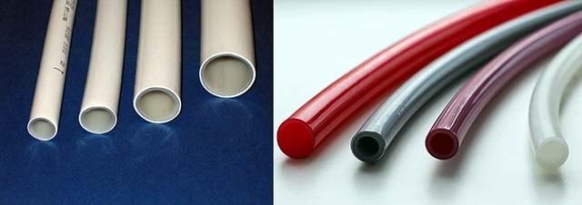 Polymerrör för vattenuppvärmning