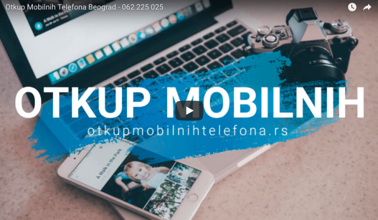 Otkup mobilnih telefona: TV i Youtube reklama
