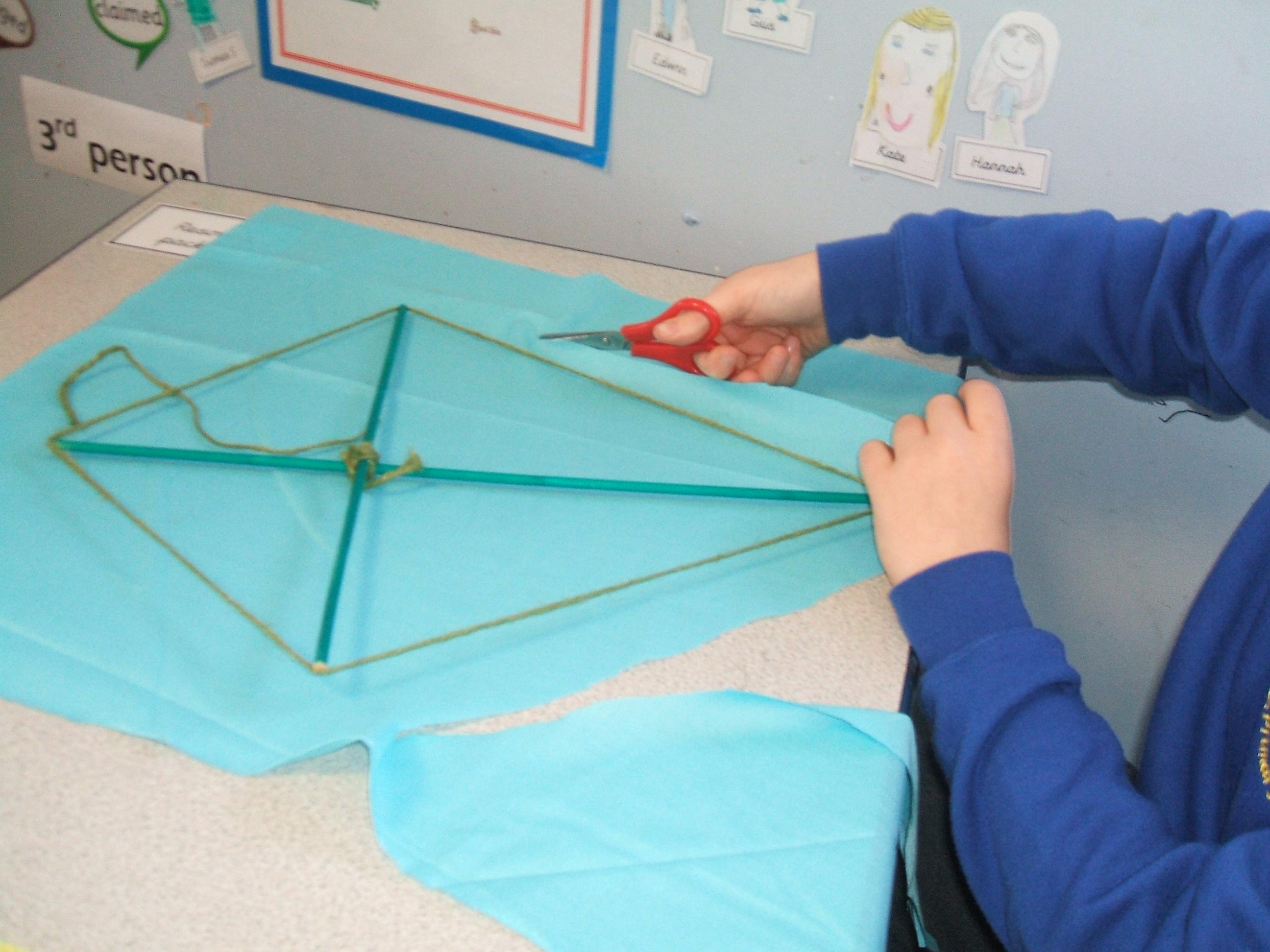 Oxfam Kite Making