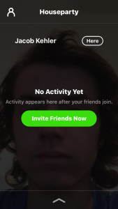 How To Start a Video Chat With The Houseparty Group Video Chat App