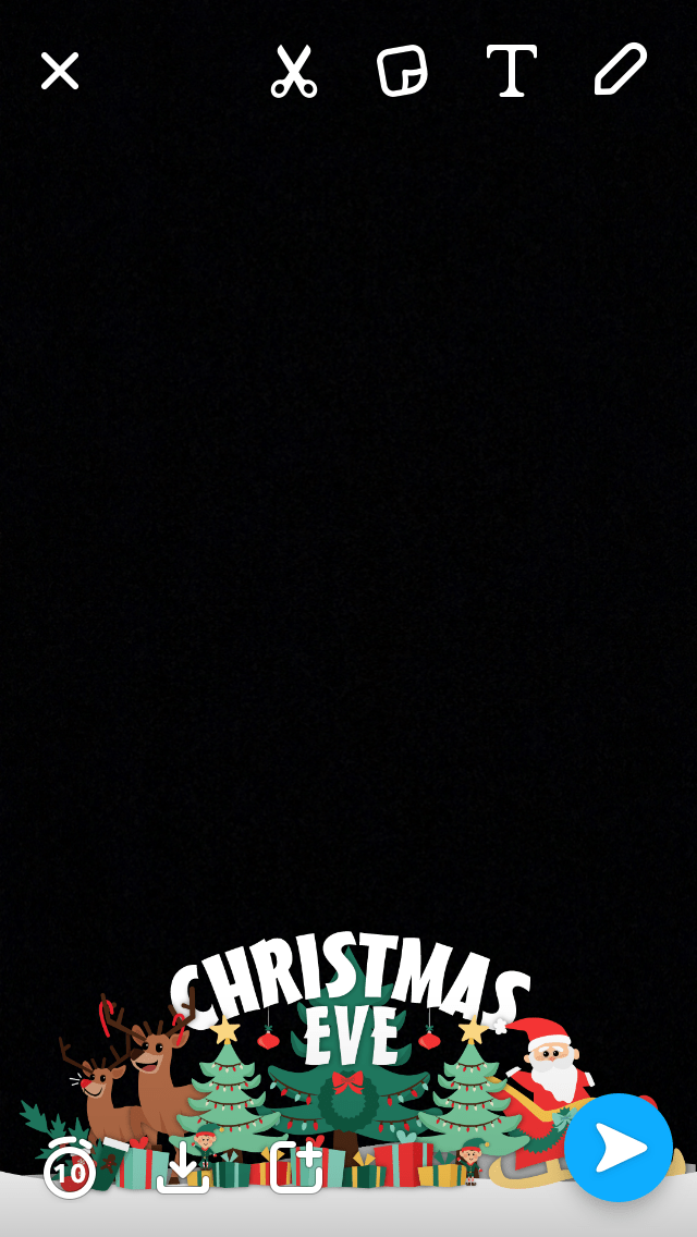 christmas eve snapchat filter 2016 its finally here