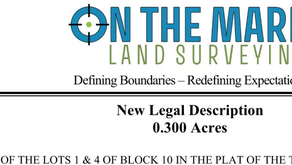 Legal Descriptions