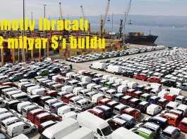 Temmuz 2109 Türkiye otomotiv ihracatı
