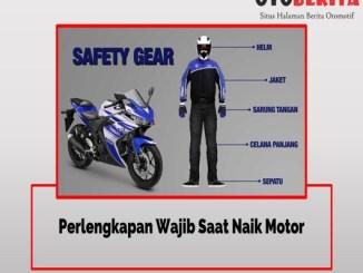 Perlengkapan Wajib Pengendara Sepeda Motor