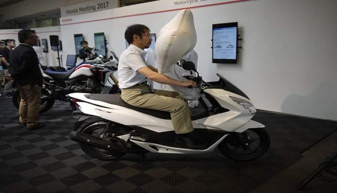 Honda Kembangan Kantung Udara Untuk Sepeda Motor