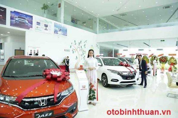 Phong trung bay xe o to Honda Binh Thuan otobinhthuan vn