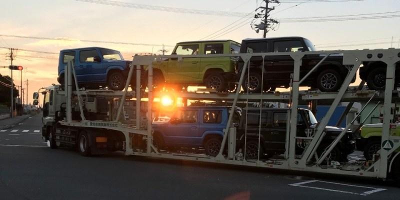 Galeri Foto, Suzuki Jimny Terbaru Mulai Didistribusikan