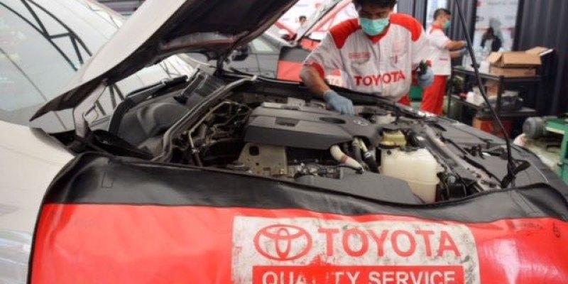 Toyota Sebar 307 Titik Layani Konsumen Mudik Lebaran 2018