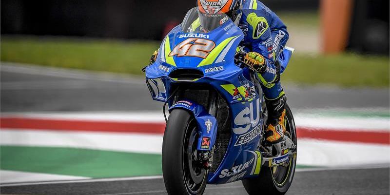 Alex Rins Pupus Pakai Sasis Baru Suzuki GSX-RR di MotoGP Italia 2018