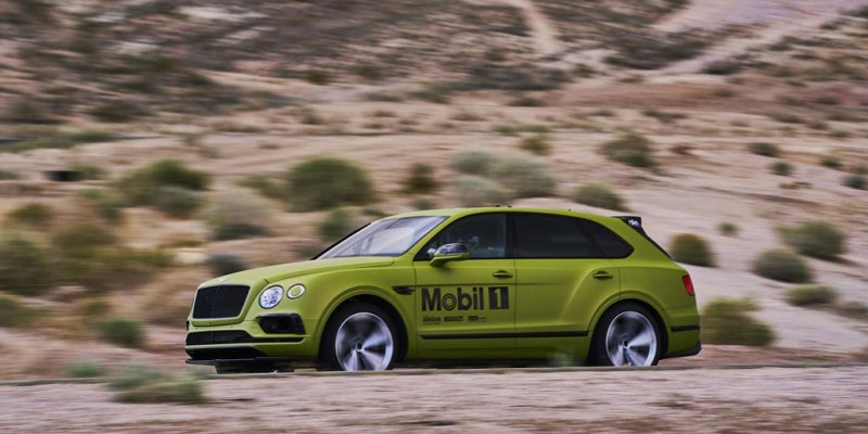 "Bentley Bentayga Sangat Siap Ikuti ""The Race to The Clouds"""