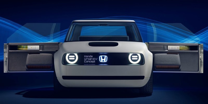 Honda Urban EV Concept Raih Penghargaan 'The Best Concept Car'