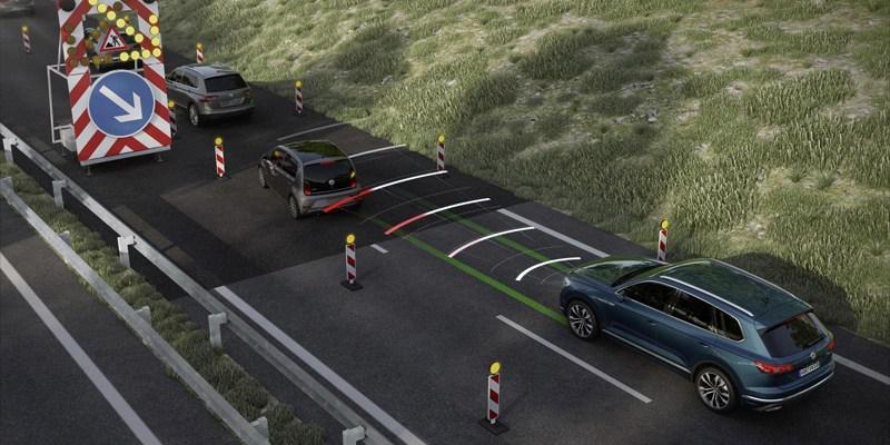 New Volkswagen Touareg Sudah Pakai Traffic Jam Assist