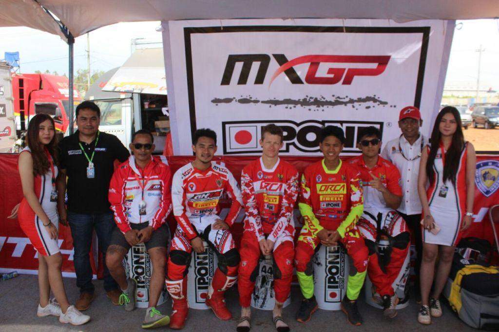 IPONE Oil Eksis di MXGP 2018 Semarang