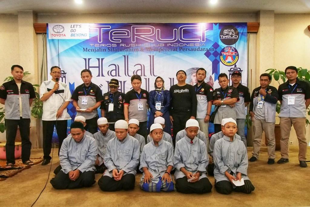 Ratusan Member Hadiri Halal Bihalal TeRuCi