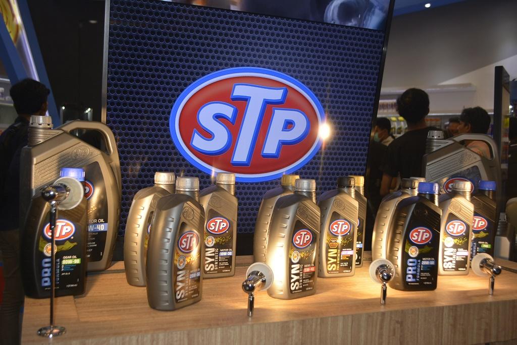 Pelumas STP Luncurkan Tiga Produk Sekaligus