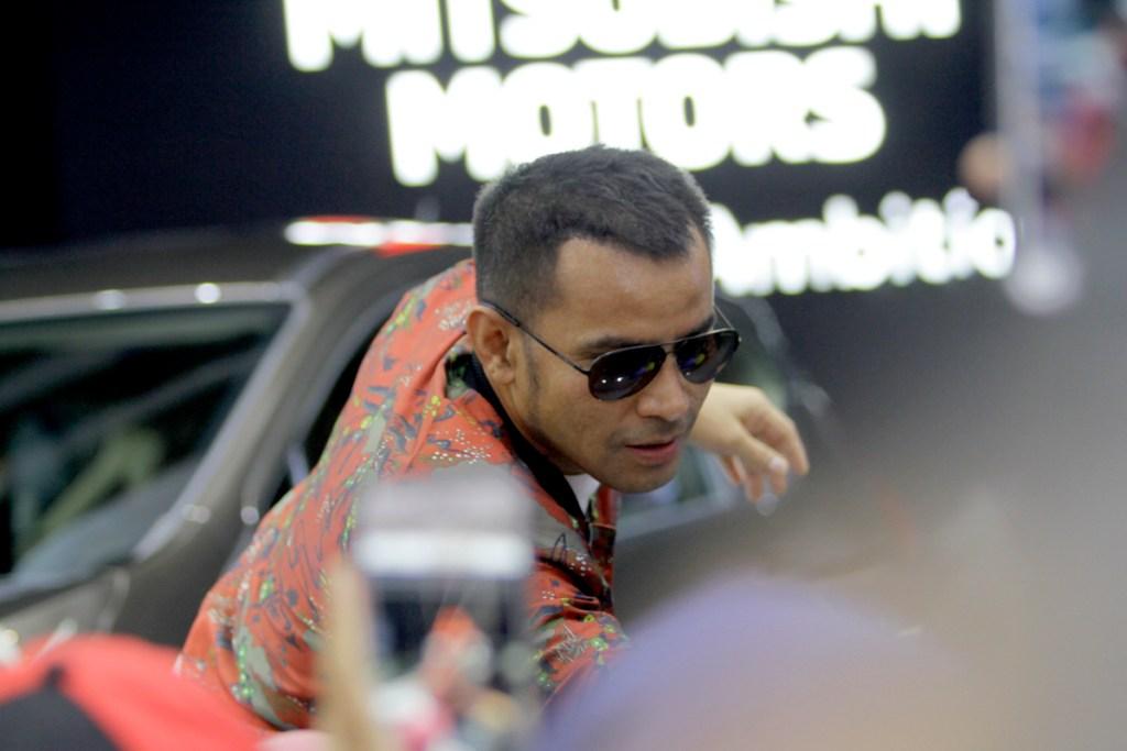 GIIAS 2018, Judika Hibur Pengunjung Booth Mitsubishi