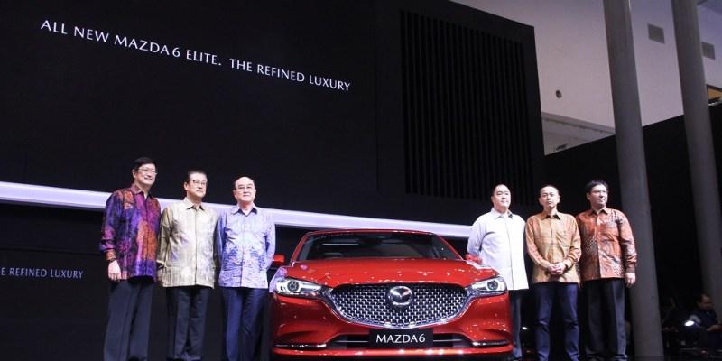 Makin Mewah, Mazda6 Sedan dan Estate Meluncur di GIIAS 2018