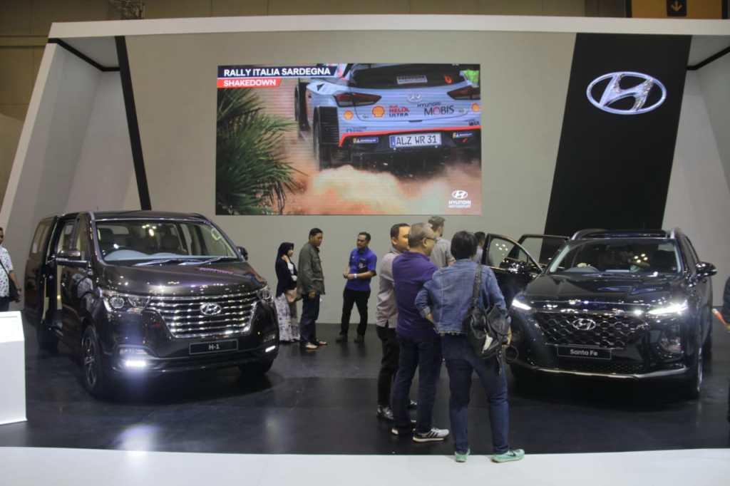 All New Hyundai Santa Fe Paling Digemari di GIIAS 2018